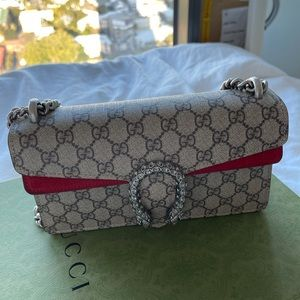 Authentic Gucci Dionysus GG small shoulder bag